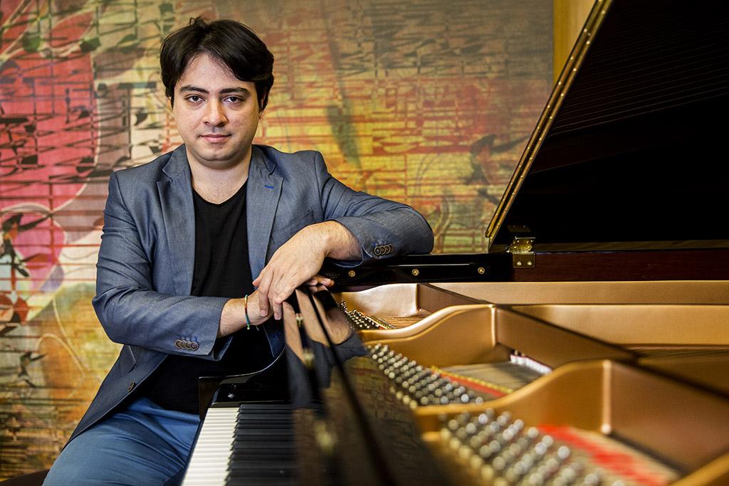Balázs János zongorista zenész 2016.04.11. Fotó:Horváth Péter Gyula