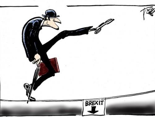 A New Yorker abszurd humorral reagált a Brexitre