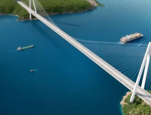Megnyitották a világ legnagyobb függőhídját Isztambulban