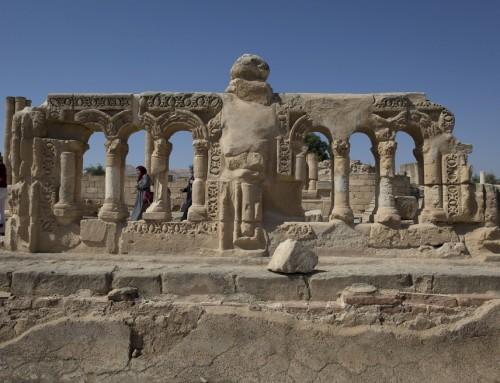 Egy napra látható volt a világ egyik legnagyobb mozaikpadlója Jerikóban