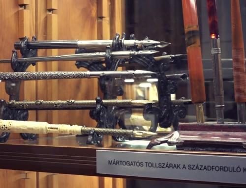"""""""Fegyver s szerszám""""- Ilyen egy 1890-es toll, amely az írószerek Ferrarija (VIDEÓ)"""